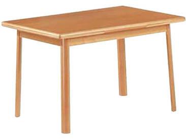 Dkk Klose Kollektion Tisch Multistar Vierfußtisch teilmassiv 39 mit Auszugsfunktion in drei Größen für Wohnzimmer und Esszimmer Ausführung wählbar
