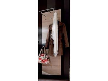 Wittenbreder Multi Color UNA 712 Garderoben Paneel für Flur Paneel Bardolino Eiche Absetzung Lava Matt