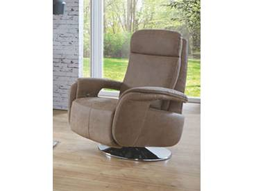 Zehdenick TV-Sessel Clou S inklusive Kopfteilverstellung in Stoff Ausführung wählbar
