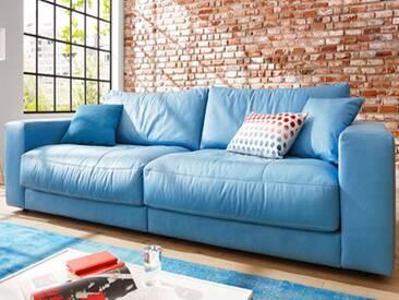 Candy Einzelsofa Sofa Kingston für Wohnzimmer Bezug Stoff oder Leder wählbar