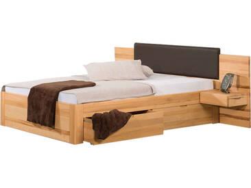 Neue Modular Primolar Bett Parma mit Kopfteil Sassari mit Polsteraufsatz und Bettkastenfunktion Liegefläche 180x200 cm optional mit Nachttischen