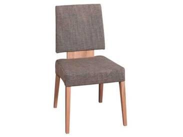 Dkk Klose Kollektion Stuhl S32 Polsterstuhl 123 passend zu Eckbank Eins2Drei Holzausführung und Bezug Sitz und Rücken wählbar