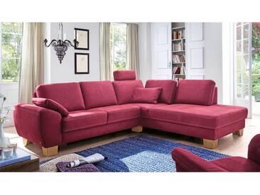 Carina Eckkombination 1090 für Wohnzimmer Bezug in Stoff oder Echtleder wählbar