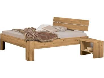Neue Modular Primolar Bett Asti Plus mit Kopfteil Natura und Füße Asti Plus Liegefläche ca. 180x200 cm optional mit Nachttischen