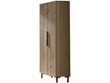 Voglauer V-Quell Badezimmer-Einrichtung Hochschrank Korpus und Front Alteiche rustiko echtholzfurniert