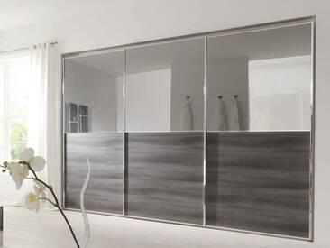 Nolte Attraction Schwebetürenschrank Kleiderschrank für Schlafzimmer Ausführung 2B Größe Dekor und Front wählbar