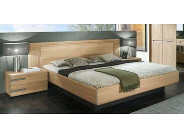 Thielemeyer Casa Massivholz Bett Ehebett Kopfteil mit Holzfüllung Komfort Liegenbett