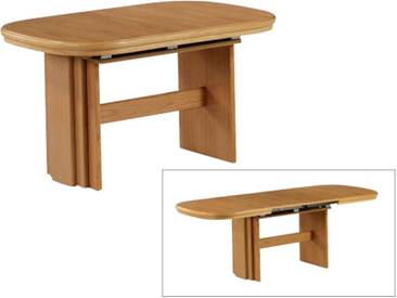 Dkk Klose Kollektion Tisch 1858 und 1878 Wangentisch ca. 135 x 85 cm Esstisch mit Funktion inkl. 2 Einlagen für Wohnzimmer und Esszimmer Farbton wählbar