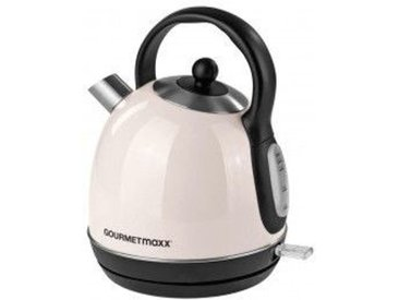 GOURMETmaxx Wasserkocher 8044 1,7 Liter cremefarbig