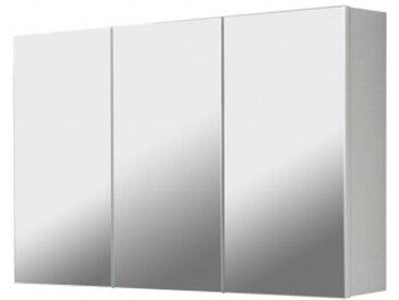 Spiegelschrank 3-türig weiß