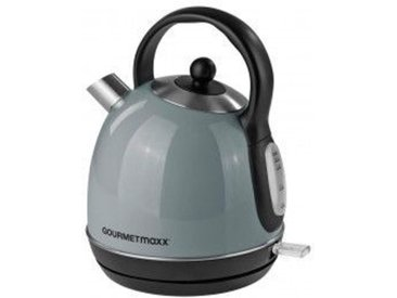 GOURMETmaxx Wasserkocher 8052 1,7 Liter grau