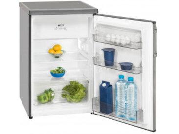 Exquisit Stand-Kühlschrank KS16-4.1A++ Inox look