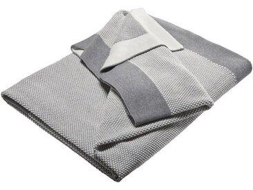 Kuscheldecke für Erwachsene Bio-Baumwolle ivorygrey-melange