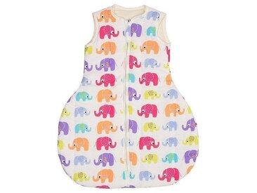 """Winterschlafsack Baby, Schurwolle (kbT) """"Elefanten"""""""