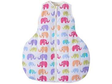 """Winterschlafsack Baby, Kamelhaar, """"Elefanten"""""""