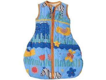 """Winterschlafsack Baby, Schurwolle (kbT), """"Zebra"""""""