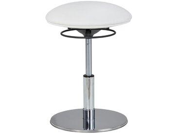 Sitzhocker höhenverstellbar Metall Sitness Creative 200 ¦ weiß » Höffner