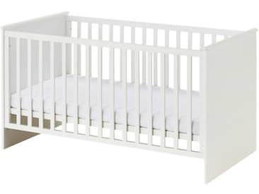 Roba Kinderbett 70x140 weiß Dreamworld 3 ¦ weiß ¦ Maße (cm): B: 70 » Höffner