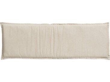 Dreisitzer-Bankauflage  High Tea Sand ¦ beige ¦ Mischgewebe, 85% Baumwolle, 15% Polyester ¦ Maße (cm): B: 48 H: 6 » Höffner