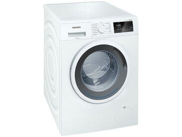 SIEMENS Waschvollautomat  WM 14 N 0A1 ¦ weiß ¦ Metall, Kunststoff
