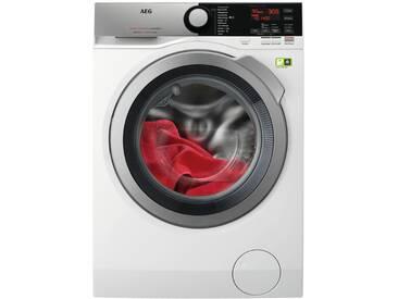 AEG Waschvollautomat  L8FE76495 ¦ weiß ¦ Metall-lackiert, Kunststoff, Edelstahl, Glas  ¦ Maße (cm): B: 60 H: 85 T: 63,9 » Höffner