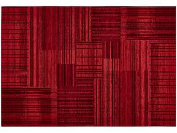 Tom Tailor Webteppich  Living ¦ rot ¦ 36% Chenille Acryl, 34%Polyester, 30%Baumwolle ¦ Maße (cm): B: 68 » Höffner