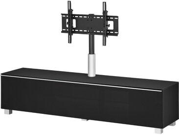 Soundboard  Soundbase L TV ¦ schwarz ¦ Maße (cm): B: 180 H: 43 T: 42 » Höffner