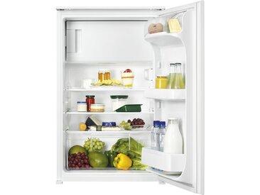 ZANKER Einbaukühlschrank  KBA14411SB ¦ schwarz ¦ Kunststoff,...