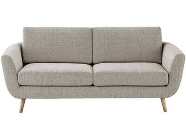 SOHO Sofa braun - Webstoff Smilla Day ¦ beige ¦ Maße (cm): B: 197 H: 78 T: 93 » Höffner