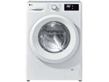 LG Electronics Waschvollautomat  F 14WM 7LN0 ¦ weiß ¦ Kunststoff, Glas , Metall-lackiert ¦ Maße (cm): B: 60 H: 85 T: 56 » Höffner