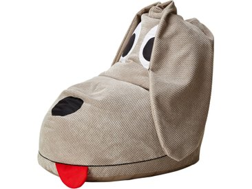 Sitzsack  Dog ¦ beige ¦ Maße (cm): B: 93 H: 60 T: 85