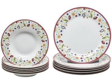 Ritzenhoff & Breker Tafelservice 12-teilig  Shanti ¦ mehrfarbig ¦ Porzellan » Höffner