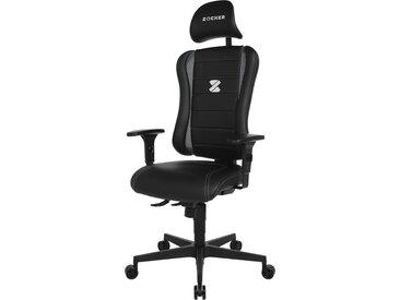 € Basispreis* Gaming Chair  Sitness Zocker ¦ schwarz ¦ Maße (cm):