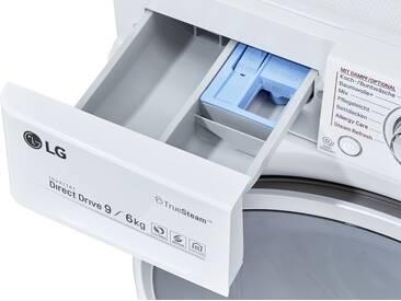LG Electronics Waschtrockner  F 14WD96 EH1 ¦ weiß ¦ Kunststoff, Glas , Metall-lackiert ¦ Maße (cm): B: 60 H: 85 T: 61 » Höffner