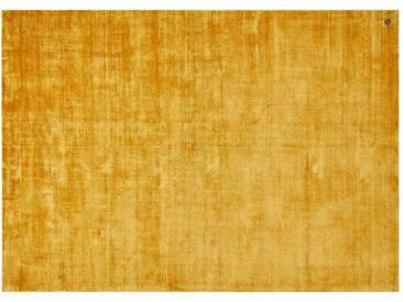 Tom Tailor Teppich handgewebt  Shine ¦ gelb ¦ reine Viskose ¦ Maße (cm): B: 65 » Höffner