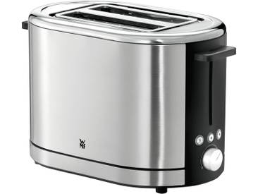 WMF Toaster Lono  0414090011 ¦ silber ¦ Kunststoff, Edelstahl ¦ Maße (cm): B: 32 H: 19,3 T: 22,2 » Höffner