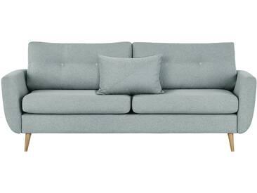 finya Skandi-Sofa mintgrün - Webstoff Harris ¦ blau ¦ Maße (cm): B: 207 H: 85 T: 92 » Höffner
