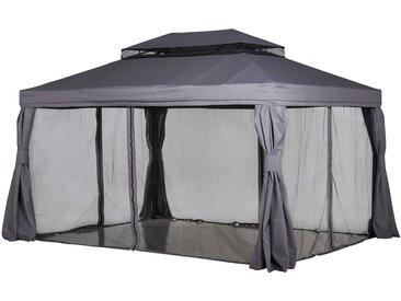 Pavillon  Sahara ¦ grau ¦ Maße (cm): B: 300 H: 280 T: 400 » Höffner
