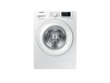 Samsung Waschvollautomat  WW-80J5435DW/EG ¦ weiß ¦ Glas , Edelstahl, Kunststoff, Metall-lackiert ¦ Maße (cm): B: 60 H: 85 T: 55 » Höffner