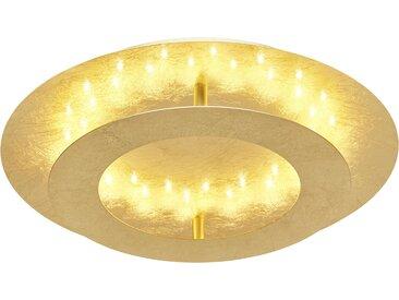 Paul Neuhaus LED-Deckenleuchte, blattgoldfarben ¦ gold ¦ Maße
