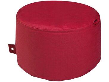 Sitzsack  Rock Plus ¦ rot ¦ Maße (cm): H: 35 Ø: [60.0] » Höffner