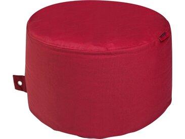 Outbag Sitzsack  Rock Plus ¦ rot ¦ Maße (cm): H: 35 Ø: [60.0]