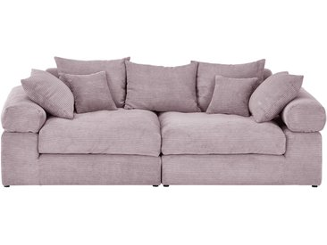 smart Big Sofa  Lionore ¦ rosa/pink ¦ Maße (cm): B: 242 H: 86 T: