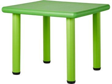 € Basispreis* Kindertisch  Kindertisch Grün ¦ grün ¦ Maße (cm):