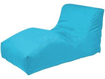 Outbag Sitzsack  Wave Plus ¦ blau ¦ Maße (cm): B: 70 H: 65 T: 125