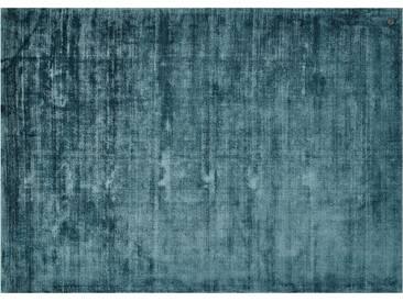 Tom Tailor Teppich handgewebt  Shine ¦ blau ¦ reine Viskose ¦ Maße (cm): B: 140 » Höffner