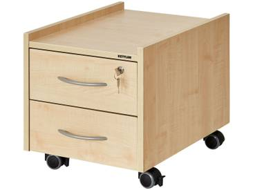 KETTLER Rollcontainer  Sit on Locked ¦ holzfarben ¦ Maße (cm): B: 42 H: 43 T: 57 » Höffner