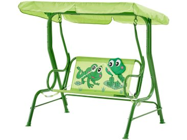 Kinderschaukel  Froggy ¦ grün ¦ Maße (cm): B: 108 H: 110 » Höffner