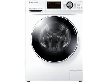 Haier Waschvollautomat  HW90-B14636 ¦ weiß ¦ Edelstahl, Glas , Kunststoff, Metall-lackiert ¦ Maße (cm): B: 59,5 H: 85 T: 55 » Höffner