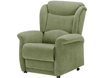Hukla Fernsehsessel grün - Stoff Benno ¦ grün ¦ Maße (cm): B: 83 H: 109 T: 95 » Höffner